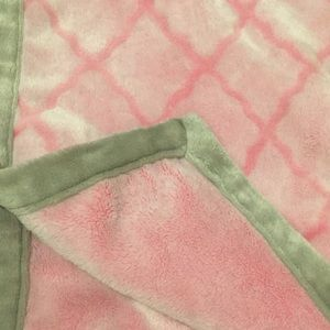 Other - Pink Fuzzy Blanket